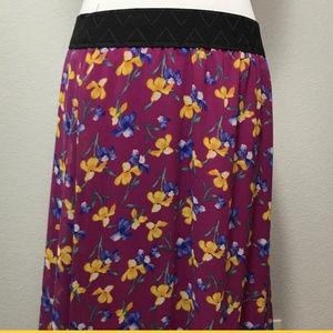 LuLaRoe Lucy Maxi Skirt NWT